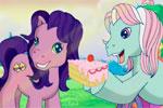 Очаровательный табель рождения пони